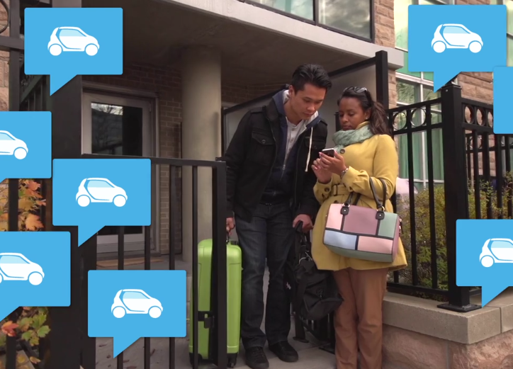 Car2go Web ad