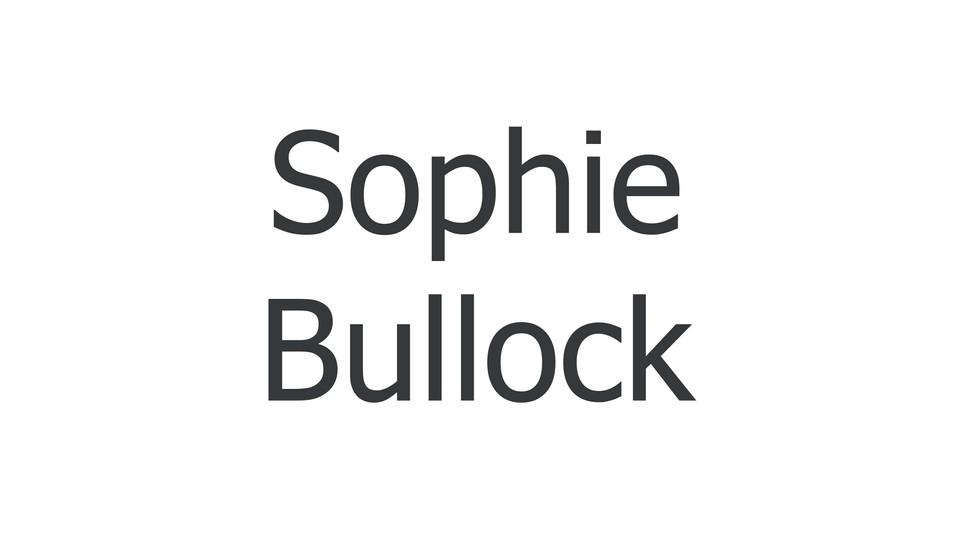 Sophie Bullock