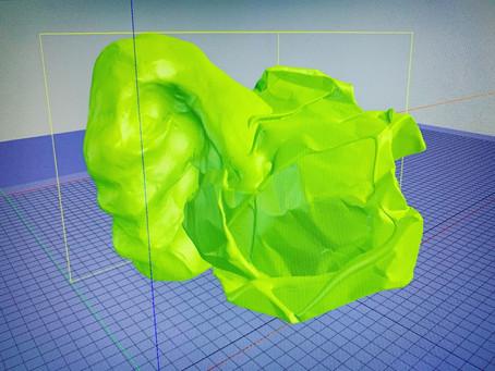 Colliding 3D Scans