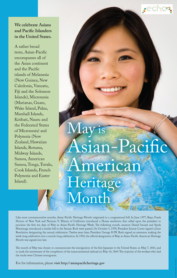 Asian Pacific Month poster, 2012