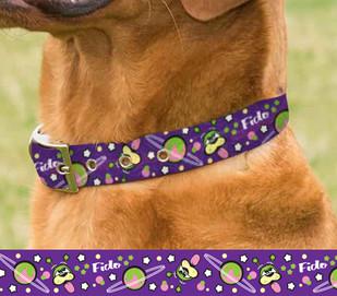 Alien Fido Dog Collar