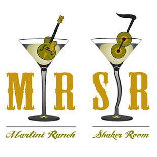 Logo Re-Design for Martini Ranch and The Shaker Room