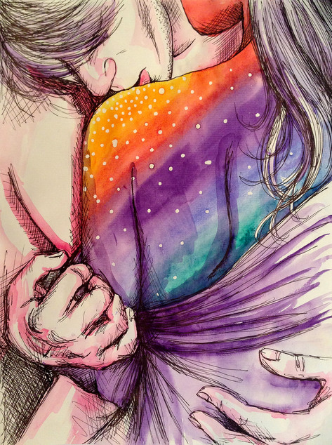 Cosmic Shoulder Kiss