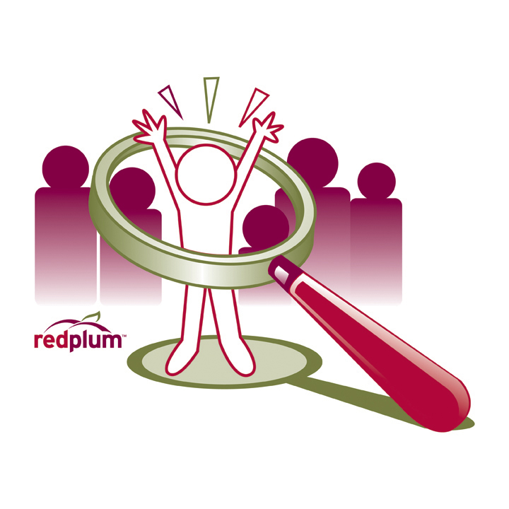 RedPlum Missing Children logo, 2013