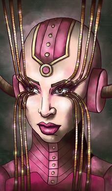 Lady Gaga as a Cyborg