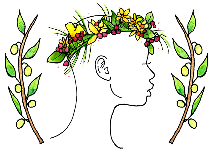 Flower Child logo illustration, 2012
