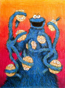 Octo-Cookie Monster