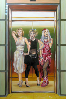 The Evolution of the Scandalous Blonde Bombshell in an Elevator