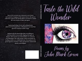 """""""Taste the Wild Wonder"""" Book Cover"""