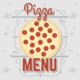 Pizza Menu Graphic