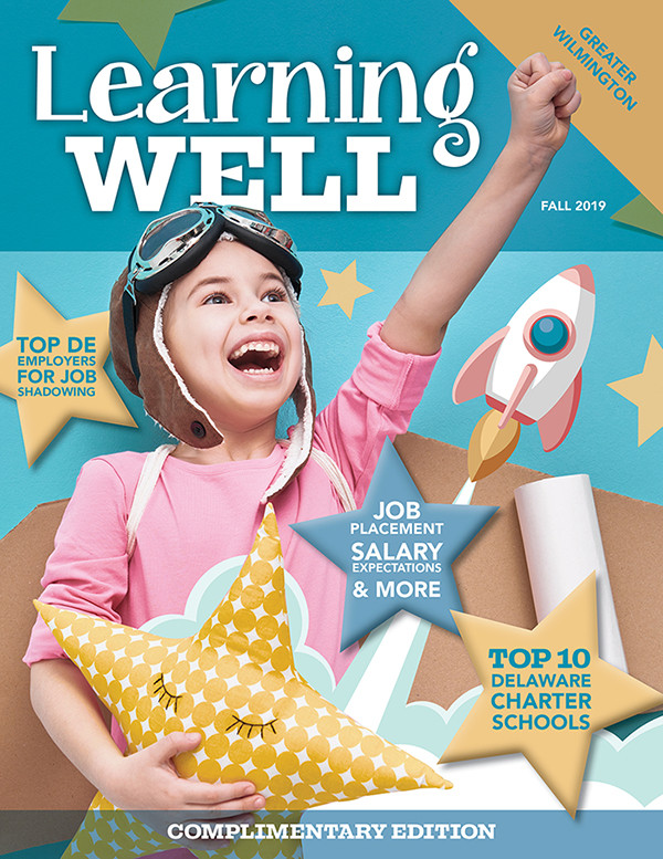 Learning Well Magazine Cover