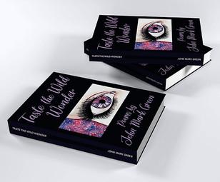 """""""Taste the Wild Wonder"""" Book Stack"""