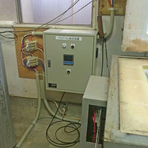 電気炉更新、焼成装置再使用