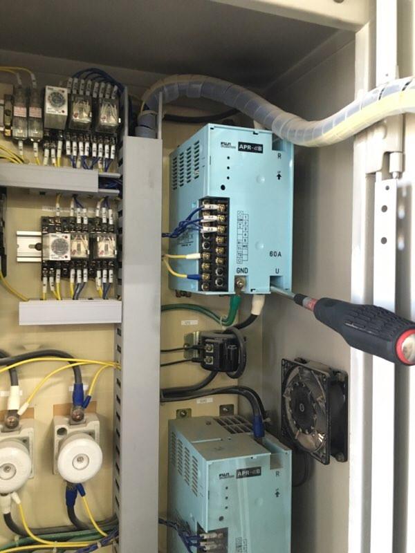 焼成装置修理 サイリスタ交換