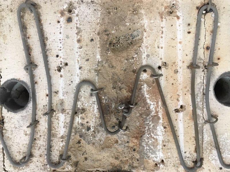 ヒーター線修理