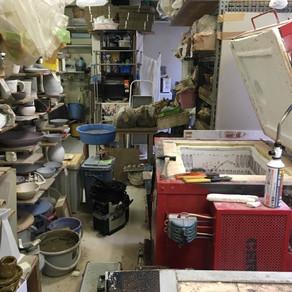 陶芸教室の窯