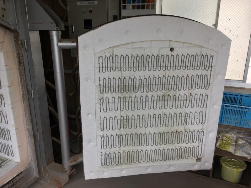 電気窯パッキン交換