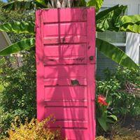 Pink/White Door