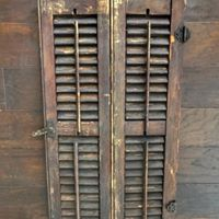 Small Brown Shutters
