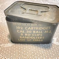 Vintage Ammo Container
