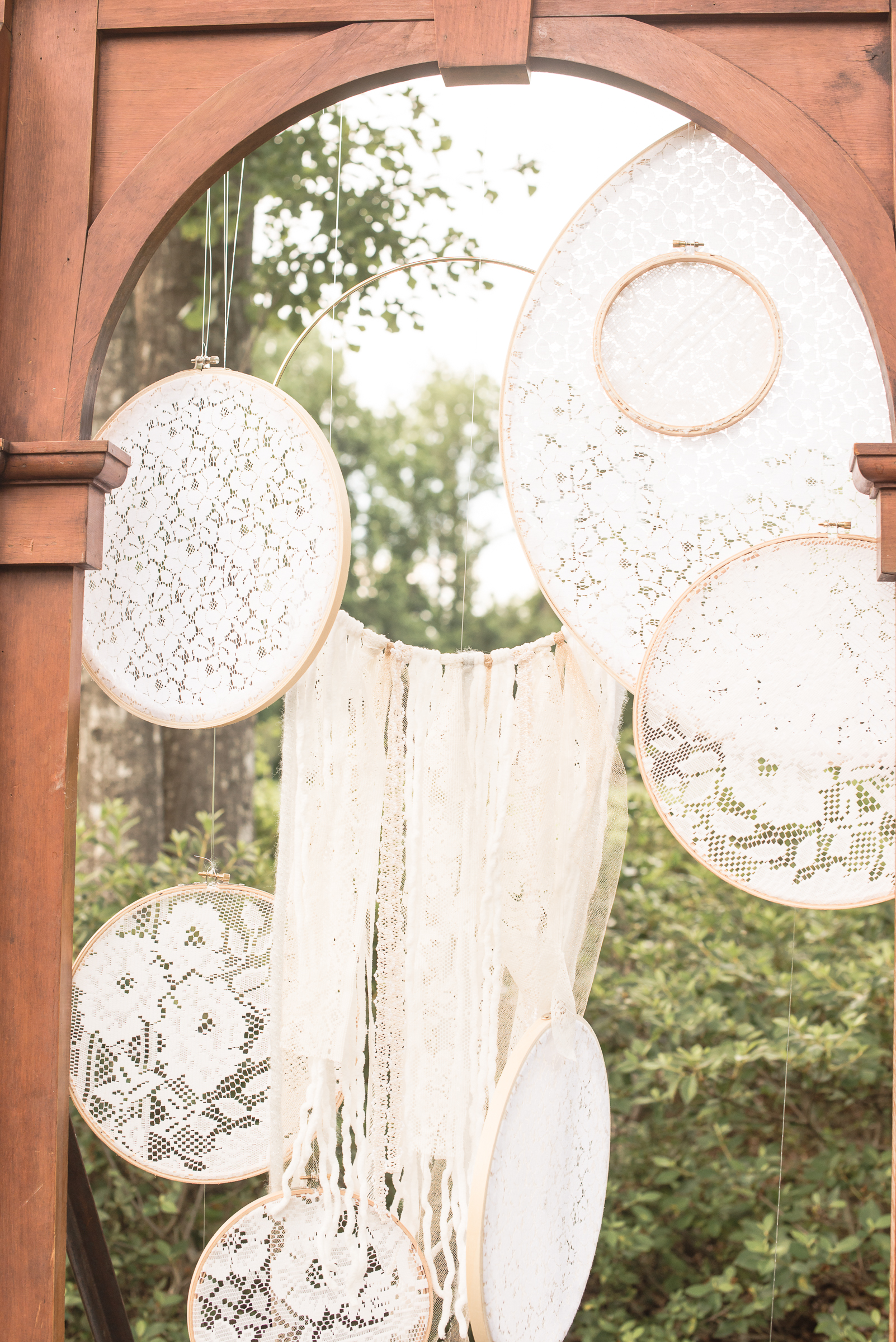 Boho Hoop Decor