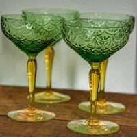 Mermaid Martini Glasses