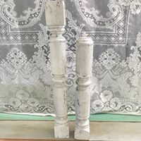 White Decorative Pillars