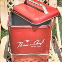 Vintage Red Soda Cooler