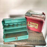 Vintage Tackelboxes