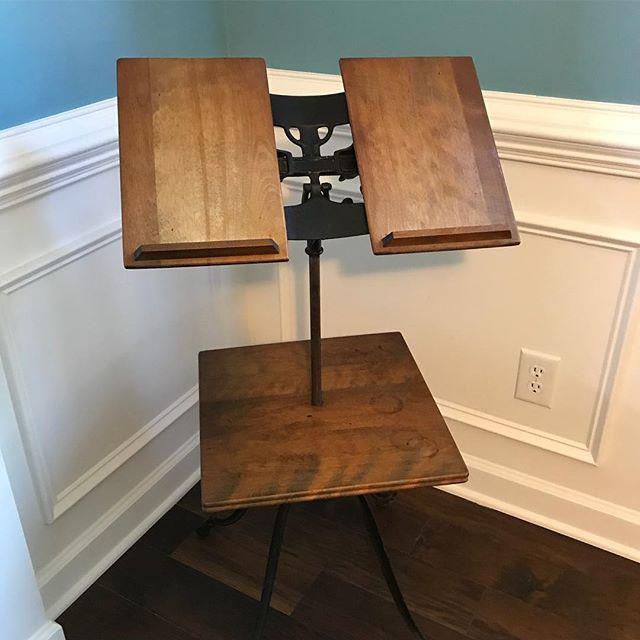 1920s Bible Stand