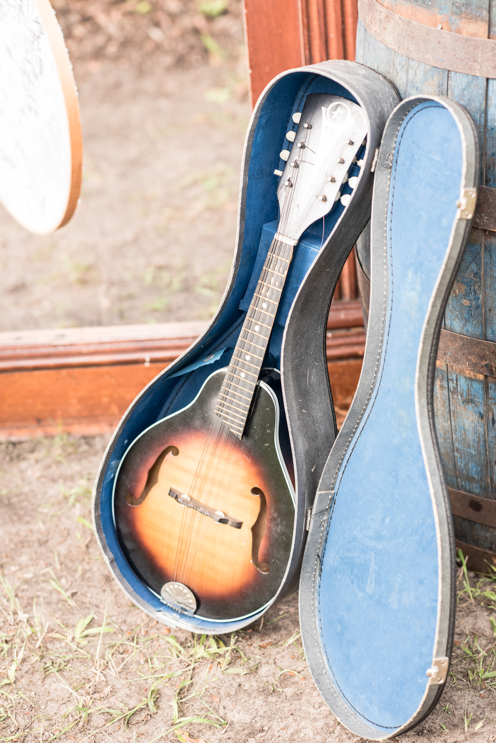 Vintage Mandolin and Case