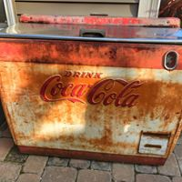 Large Coke Cooler