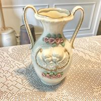 Cherub Vase
