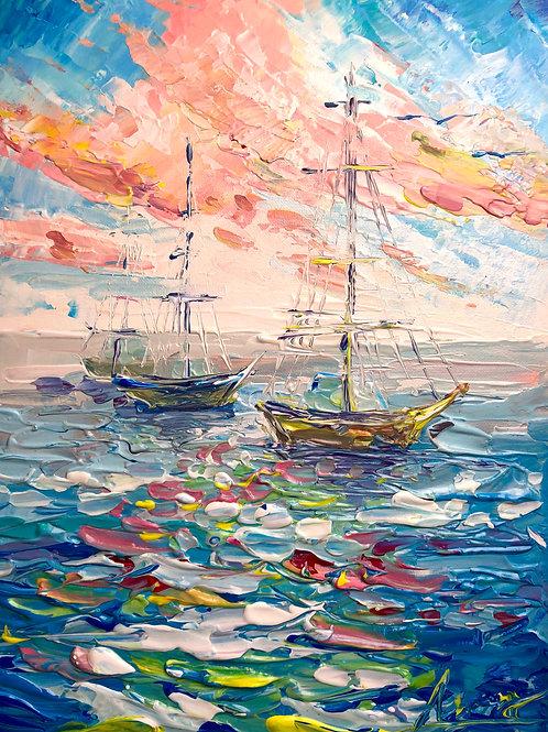 Морской натюрморт МАСТИХИНОМ