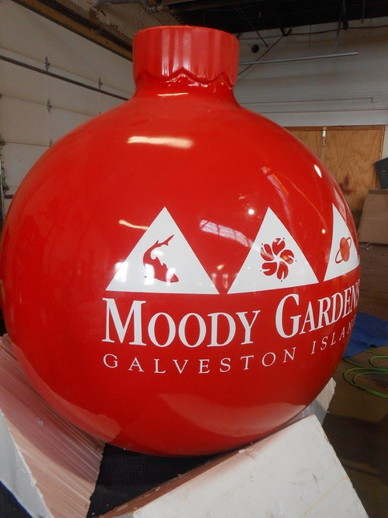 Customized giant ornament.