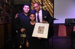 Wynton Marsalis Accepts Award