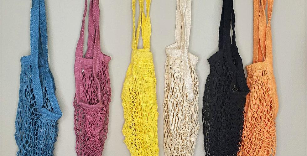 Reusable Organic Cotton Mesh Bags.