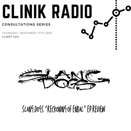 Consultation 002 : Slang Dogs 'Reckoning of Endal' EP Review