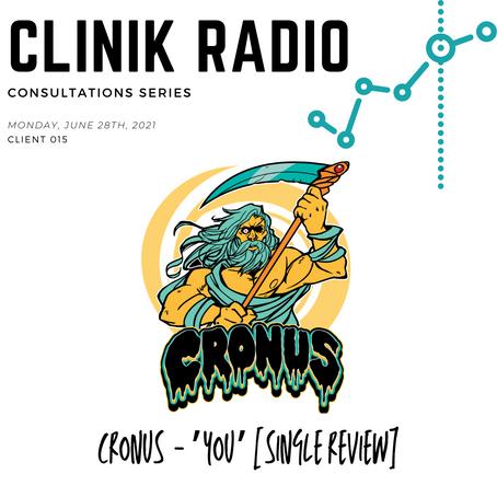 """Consultation 015 : Cronus """"You"""" Single Review"""