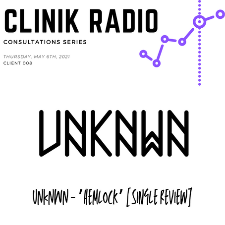 Consultation 008 : UNKNWN 'Hemlock' Single Review