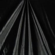 Black stretch satin