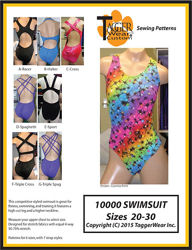 TW Basic Swimsuit Sewing Pattern