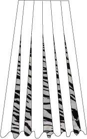12-Panel Solid/Print Skirts