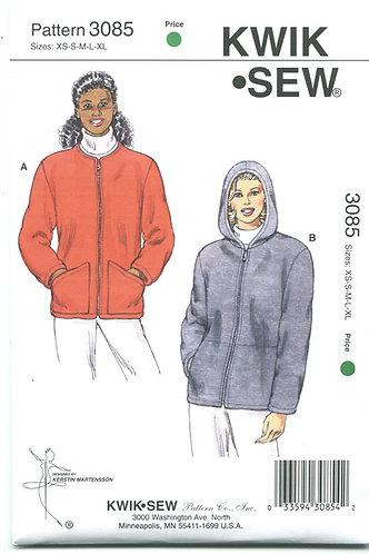 Zippered Sweatshirt