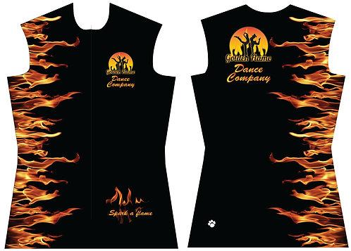 Golden Flame Club Jacket