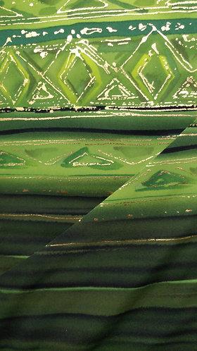 Emerald Border Print