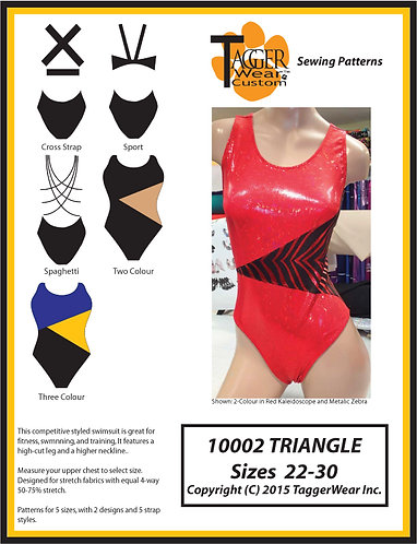 TW Triangle Design Sewing Pattern