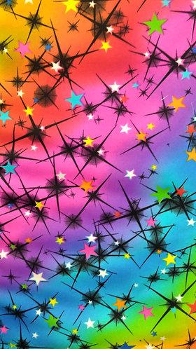 Pretty Cosmos Black Foil