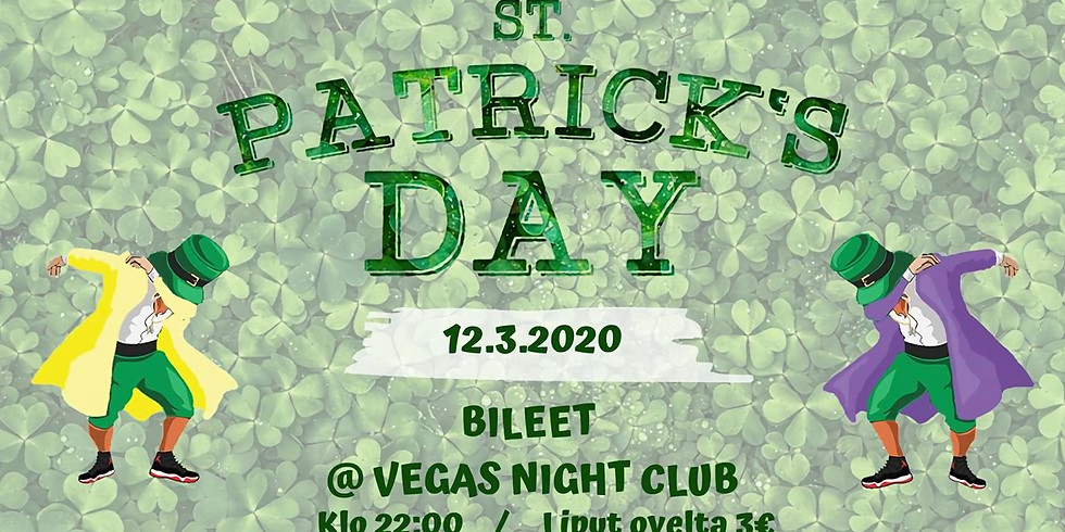 St. Patrick's Day bileet with Tio & Trade