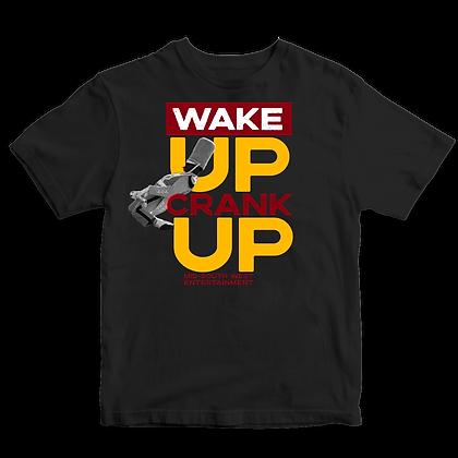 Wake Up Crank Up Showdown Drum Major T-shirt 1